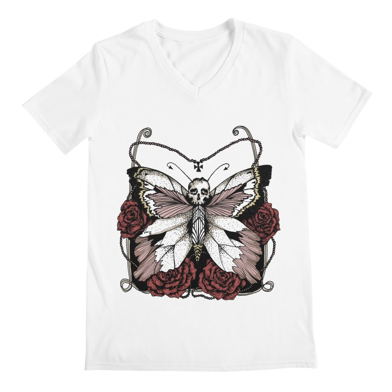 METAMORPHOSIS Men's V-Neck by Winterglaze's Artist Shop