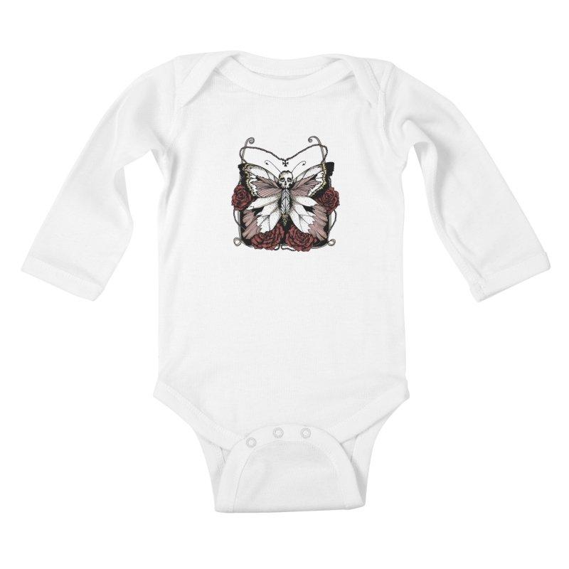 METAMORPHOSIS Kids Baby Longsleeve Bodysuit by Winterglaze's Artist Shop