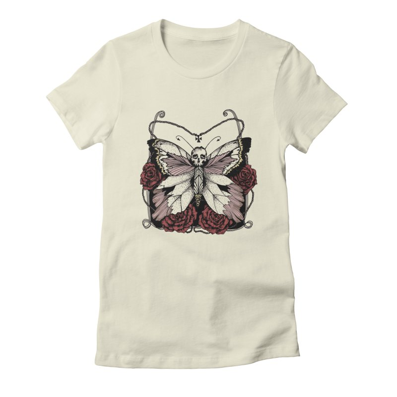 METAMORPHOSIS Women's Fitted T-Shirt by Winterglaze's Artist Shop