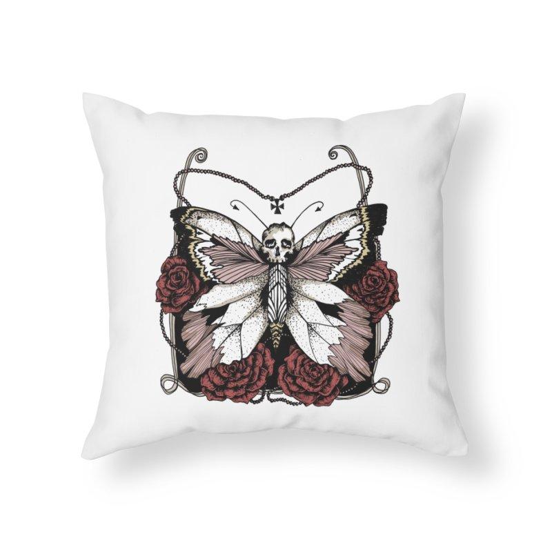 METAMORPHOSIS Home Throw Pillow by Winterglaze's Artist Shop
