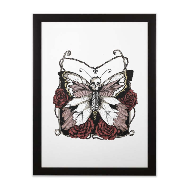 METAMORPHOSIS Home Framed Fine Art Print by Winterglaze's Artist Shop