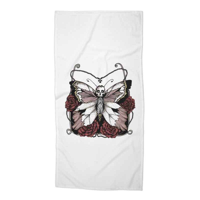 METAMORPHOSIS Accessories Beach Towel by Winterglaze's Artist Shop
