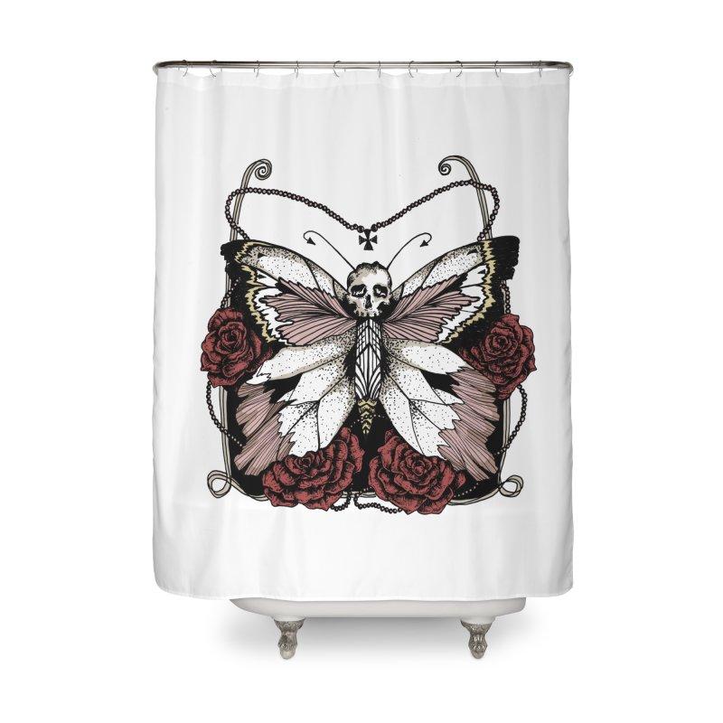 METAMORPHOSIS Home Shower Curtain by Winterglaze's Artist Shop