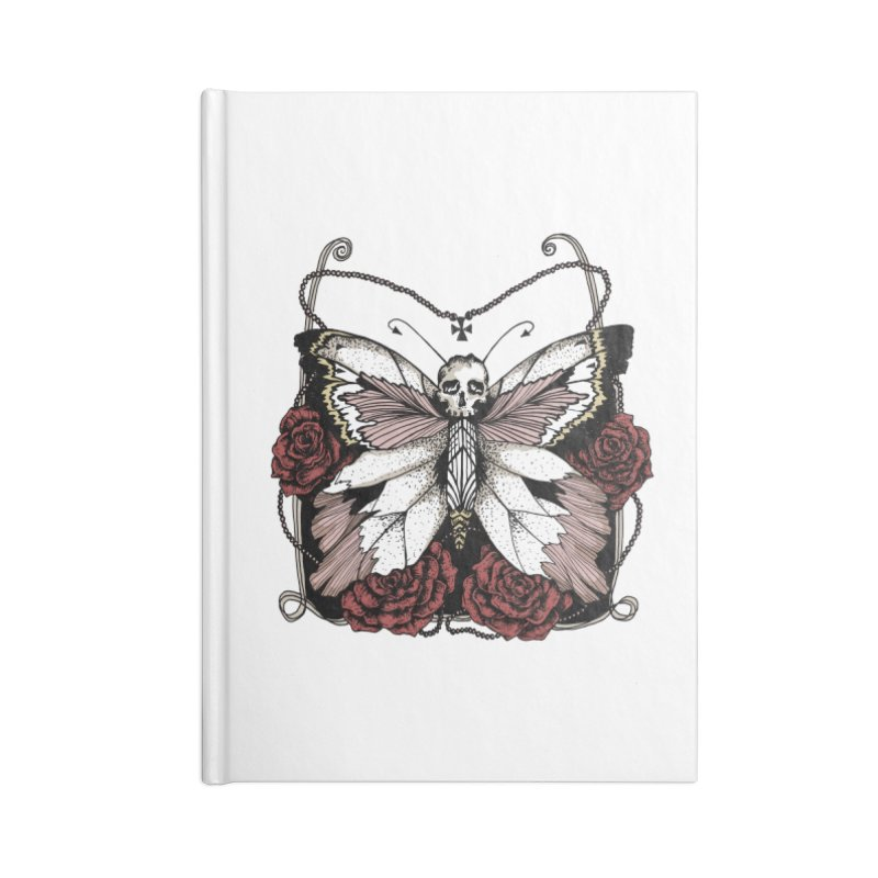 METAMORPHOSIS Accessories Notebook by Winterglaze's Artist Shop