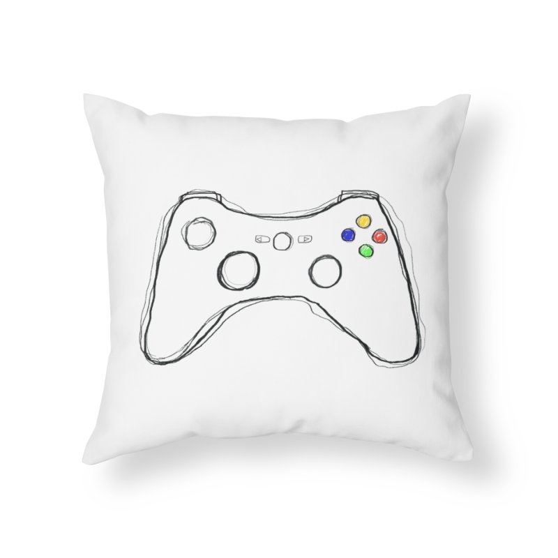 PLAYTIME Home Throw Pillow by Winterglaze's Artist Shop