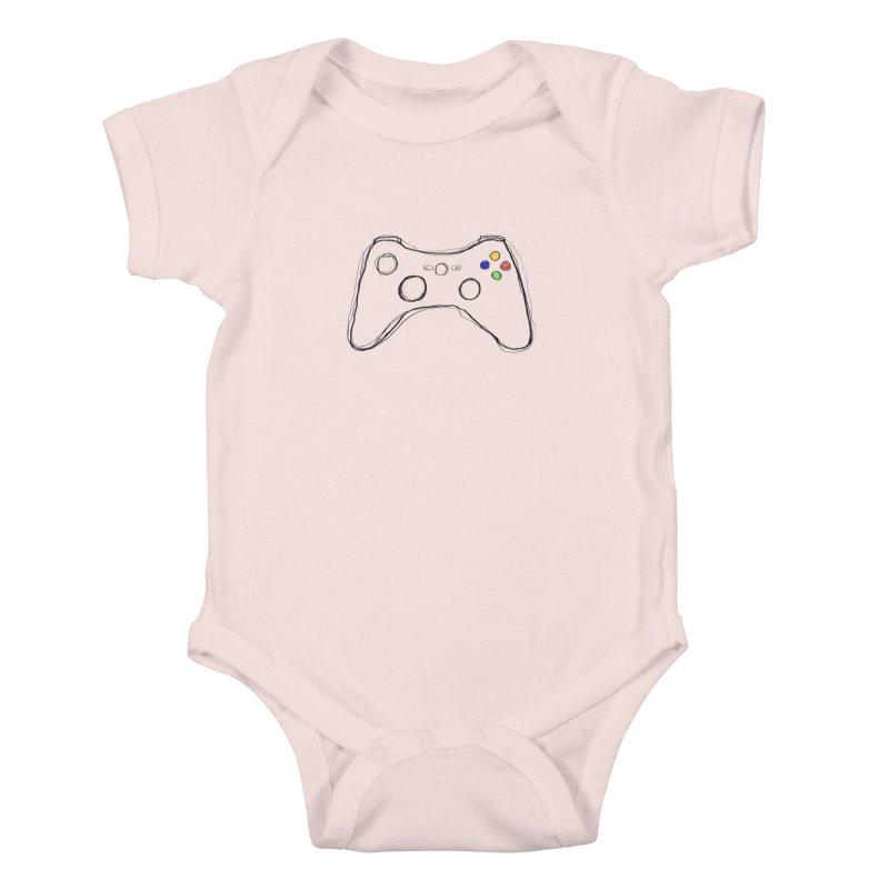 PLAYTIME Kids Baby Bodysuit by Winterglaze's Artist Shop