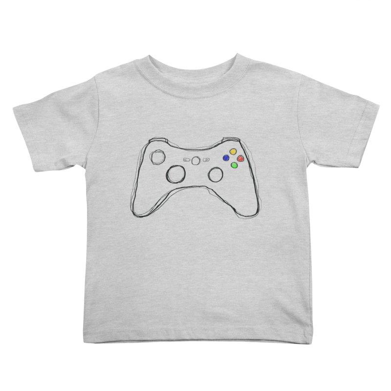 PLAYTIME Kids Toddler T-Shirt by Winterglaze's Artist Shop