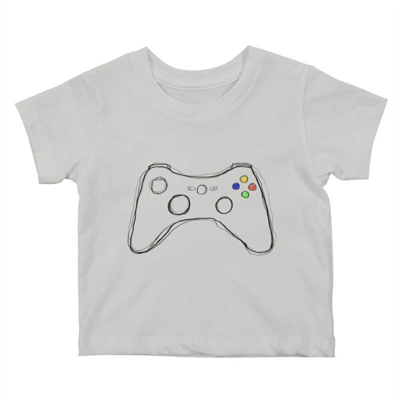 PLAYTIME Kids Baby T-Shirt by Winterglaze's Artist Shop