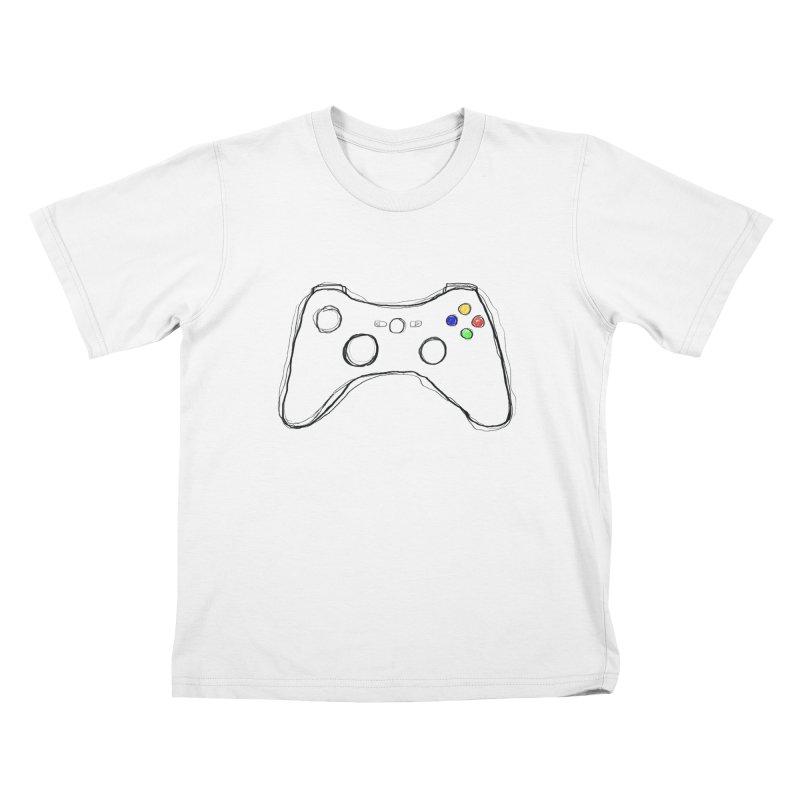 PLAYTIME Kids T-shirt by Winterglaze's Artist Shop