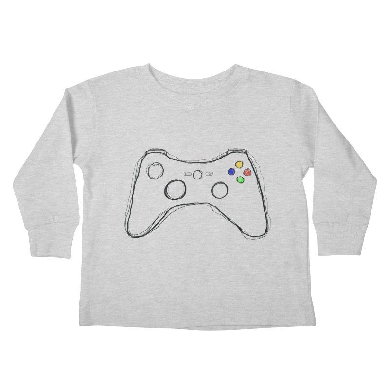 PLAYTIME Kids Toddler Longsleeve T-Shirt by Winterglaze's Artist Shop
