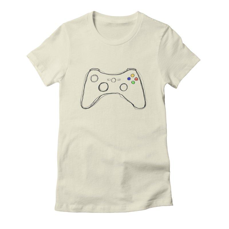 PLAYTIME Women's Fitted T-Shirt by Winterglaze's Artist Shop