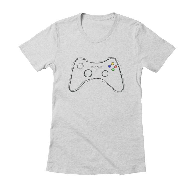 PLAYTIME Women's Fitted T-Shirt by Winterglaze's Artist Shop
