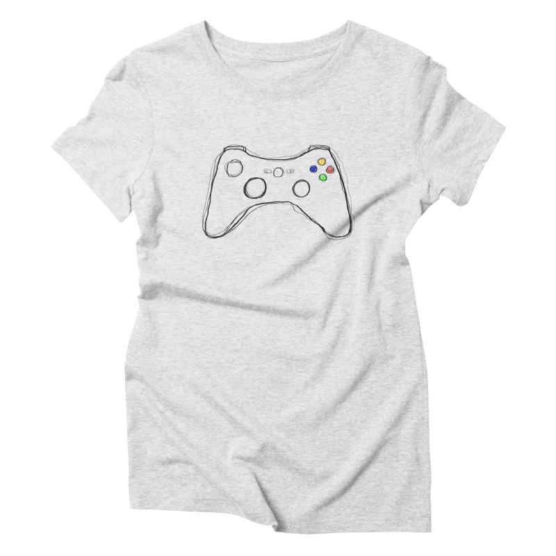 PLAYTIME Women's Triblend T-shirt by Winterglaze's Artist Shop