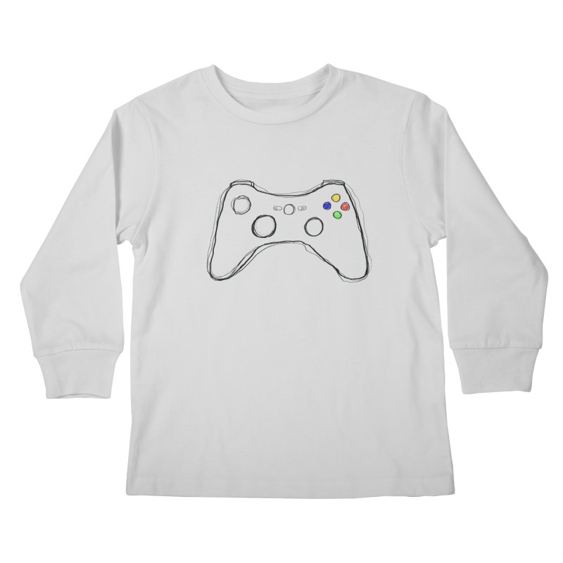 PLAYTIME Kids Longsleeve T-Shirt by Winterglaze's Artist Shop