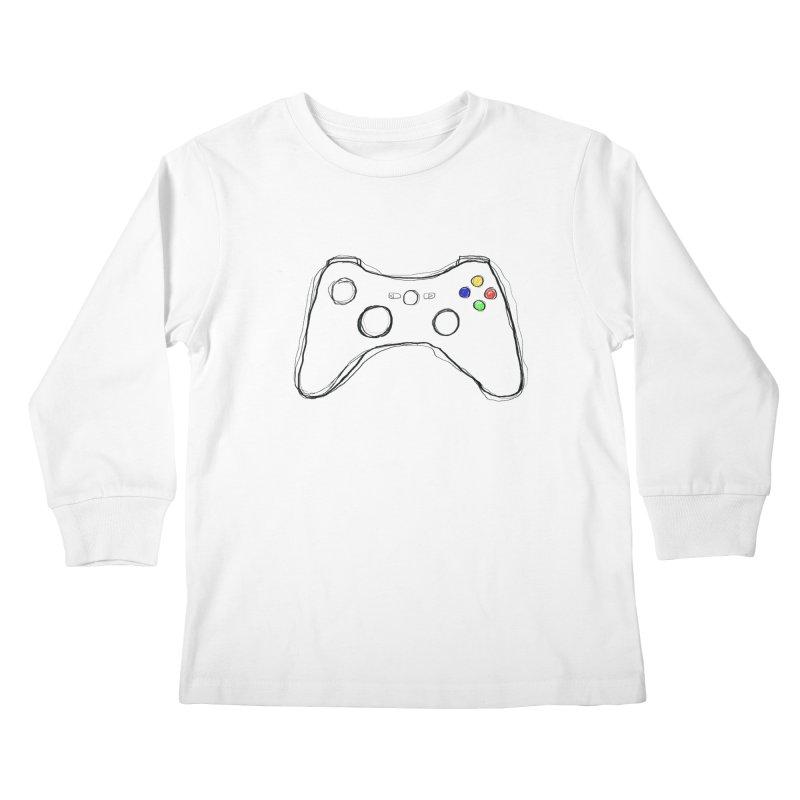 PLAYTIME Kids Longsleeve T-Shirt by Winterglaze's Artist Shop