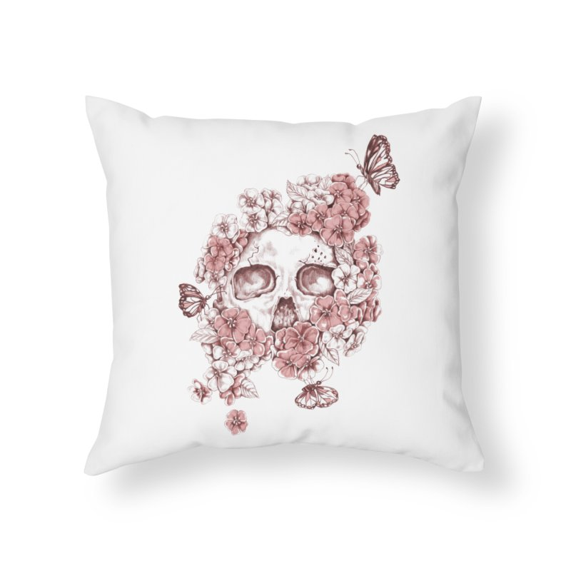 Spring Home Throw Pillow by Winterglaze's Artist Shop