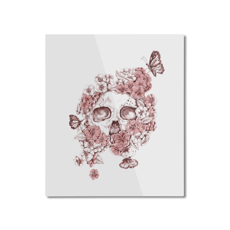 DIE BEAUTIFUL Home Mounted Aluminum Print by Winterglaze's Artist Shop