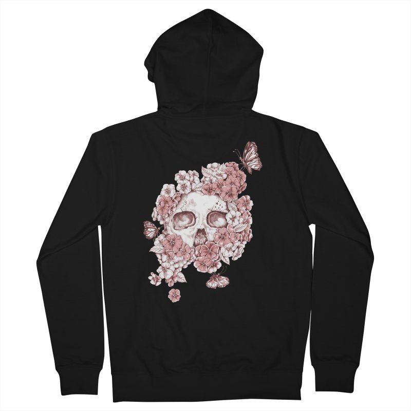 DIE BEAUTIFUL Women's Zip-Up Hoody by Winterglaze's Artist Shop