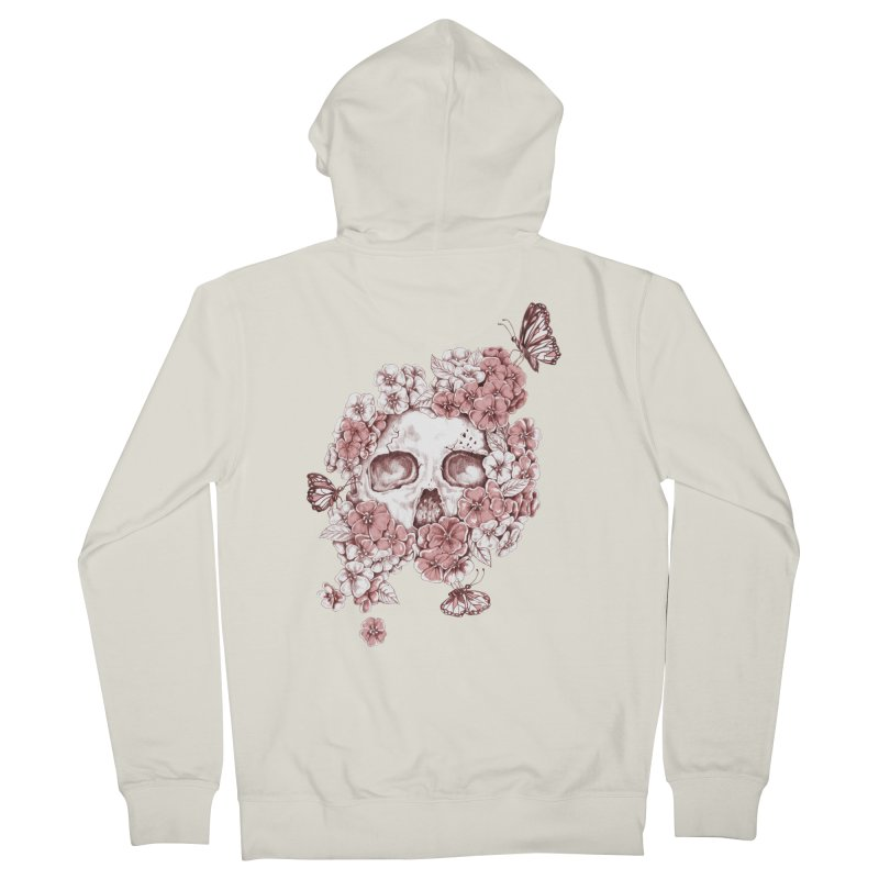 Spring Women's French Terry Zip-Up Hoody by Winterglaze's Artist Shop