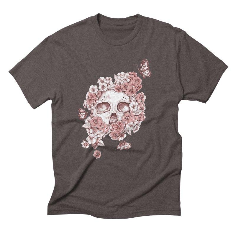 DIE BEAUTIFUL Men's Triblend T-shirt by Winterglaze's Artist Shop