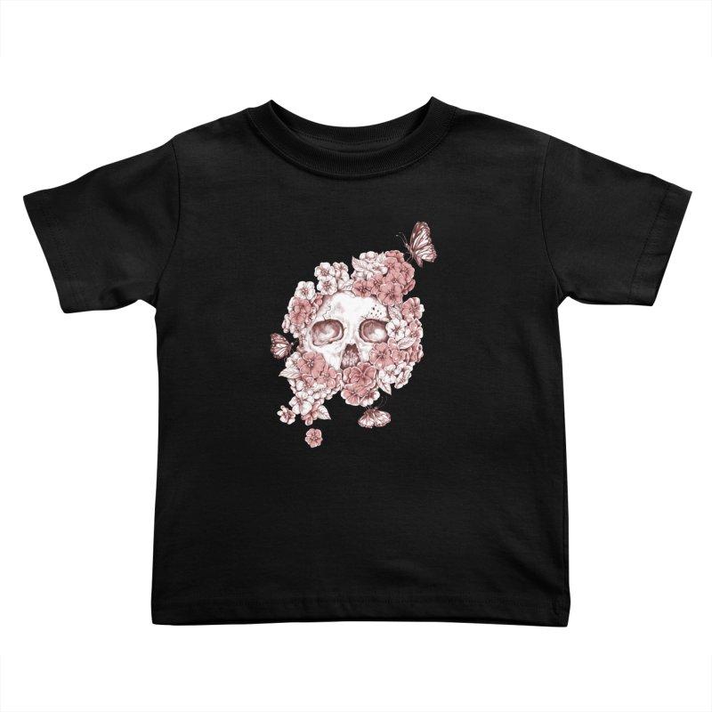 DIE BEAUTIFUL Kids Toddler T-Shirt by Winterglaze's Artist Shop