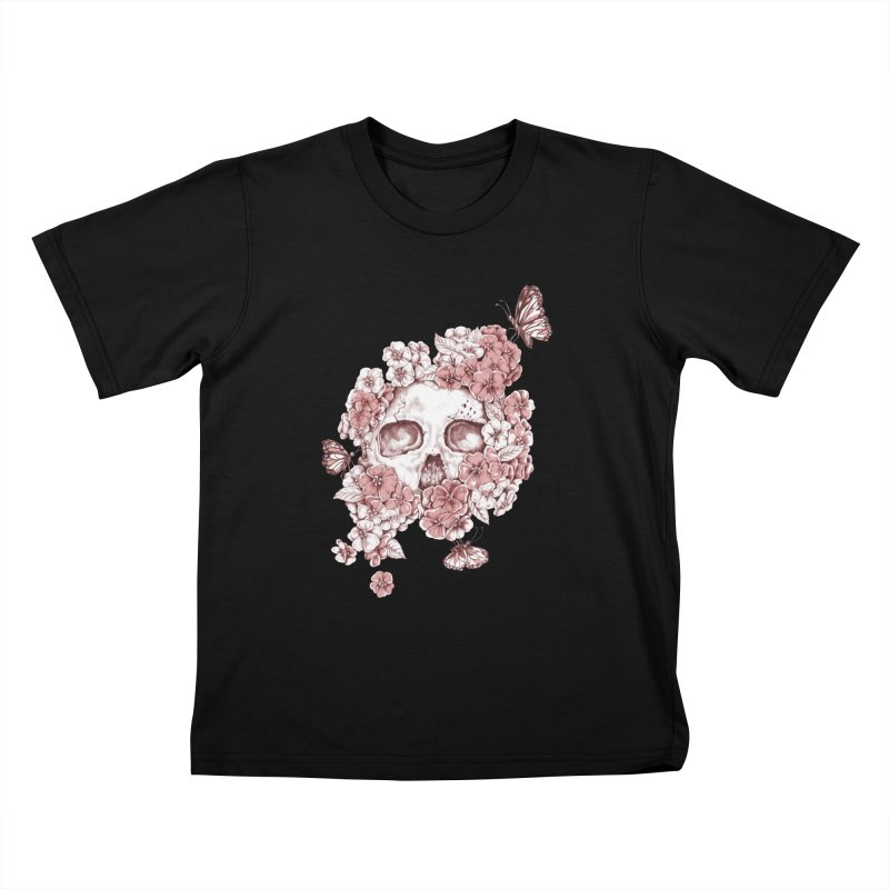 DIE BEAUTIFUL Kids T-Shirt by Winterglaze's Artist Shop