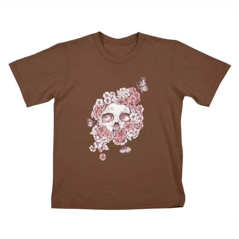 DIE BEAUTIFUL Kids T-shirt by Winterglaze's Artist Shop