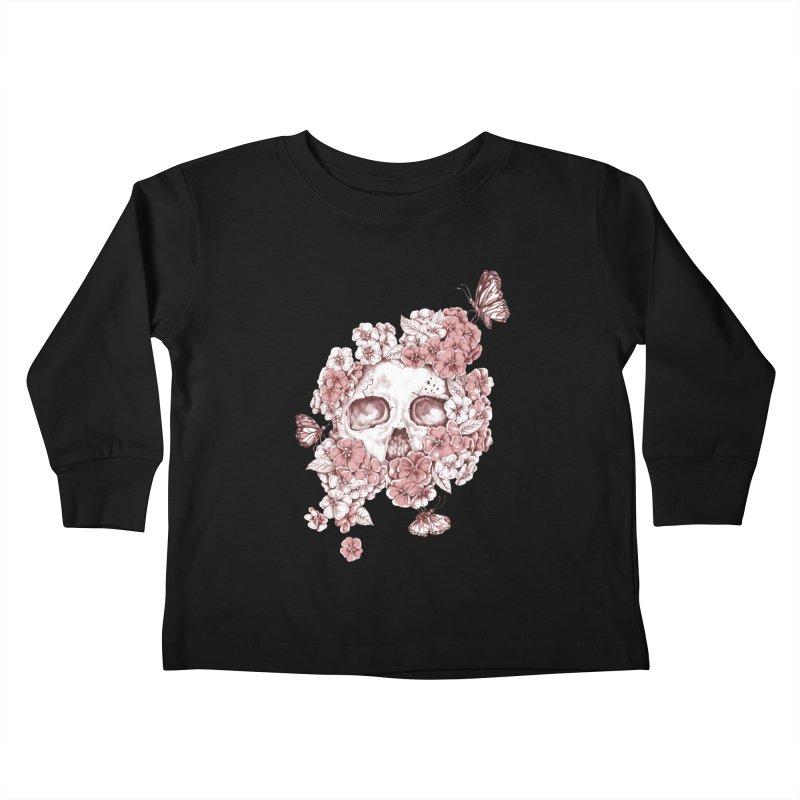 DIE BEAUTIFUL Kids Toddler Longsleeve T-Shirt by Winterglaze's Artist Shop