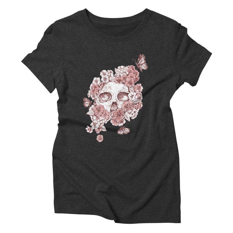 DIE BEAUTIFUL Women's Triblend T-shirt by Winterglaze's Artist Shop