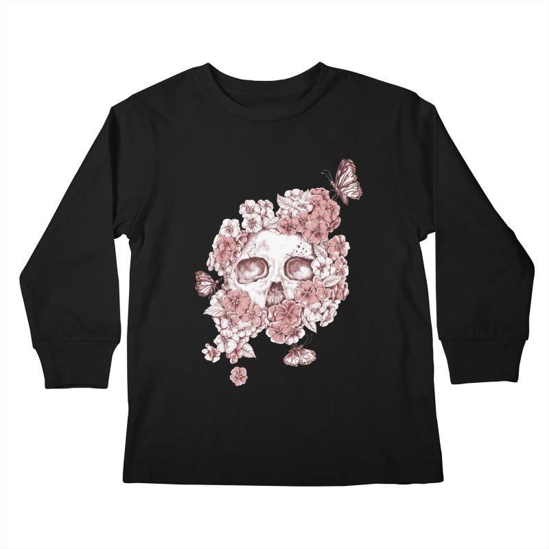 DIE BEAUTIFUL Kids Longsleeve T-Shirt by Winterglaze's Artist Shop