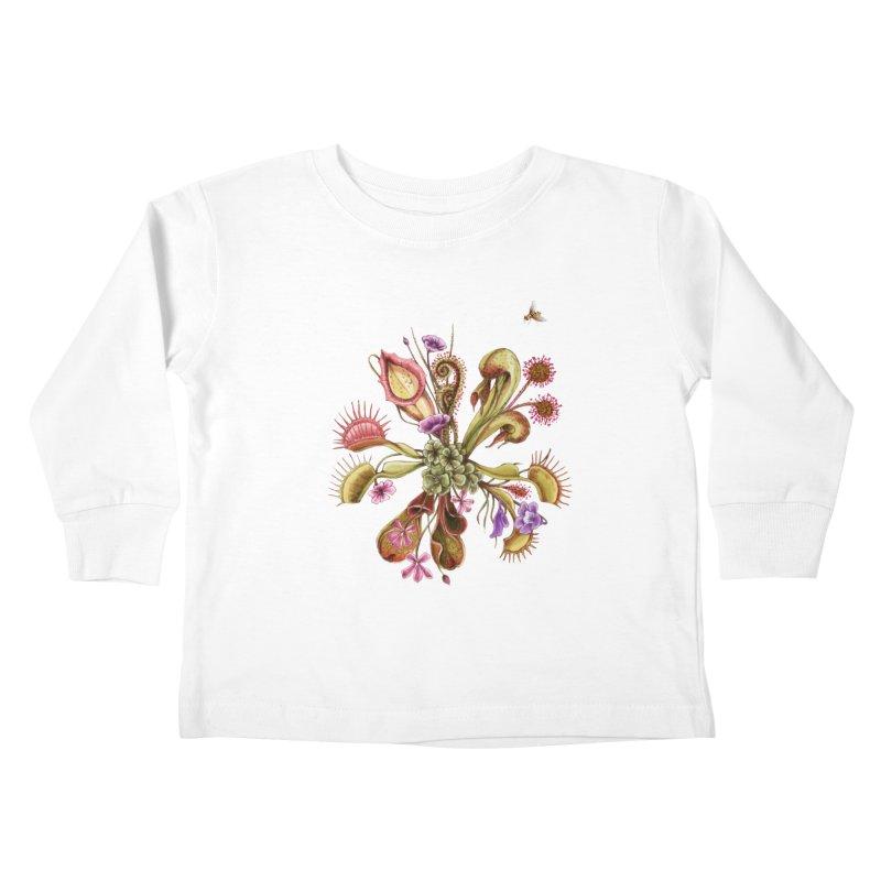 Alluring Death Kids Toddler Longsleeve T-Shirt by Winterglaze's Artist Shop