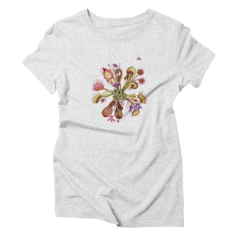 Alluring Death Women's Triblend T-Shirt by Winterglaze's Artist Shop