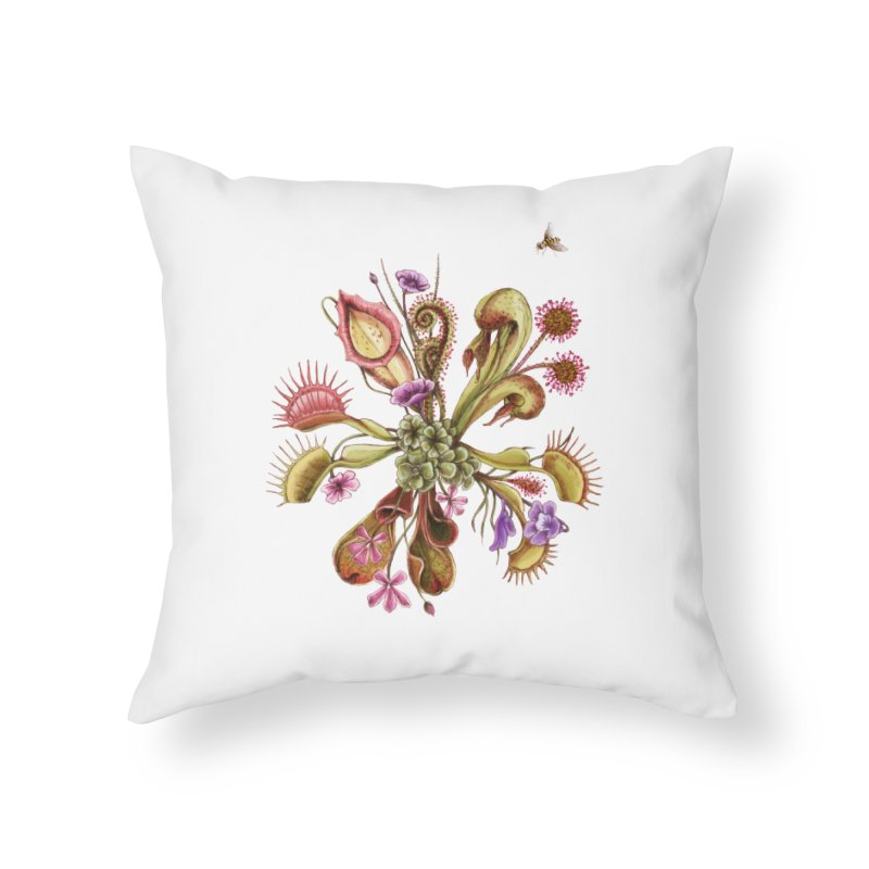 Alluring Death Home Throw Pillow by Winterglaze's Artist Shop