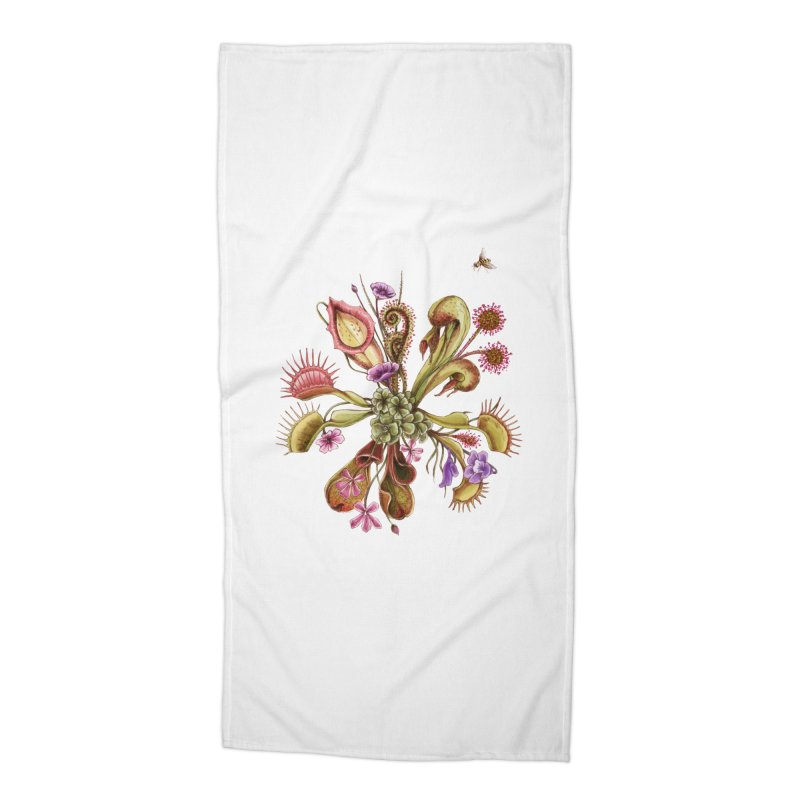Alluring Death Accessories Beach Towel by Winterglaze's Artist Shop