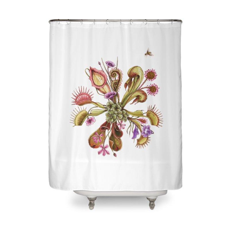 Alluring Death Home Shower Curtain by Winterglaze's Artist Shop