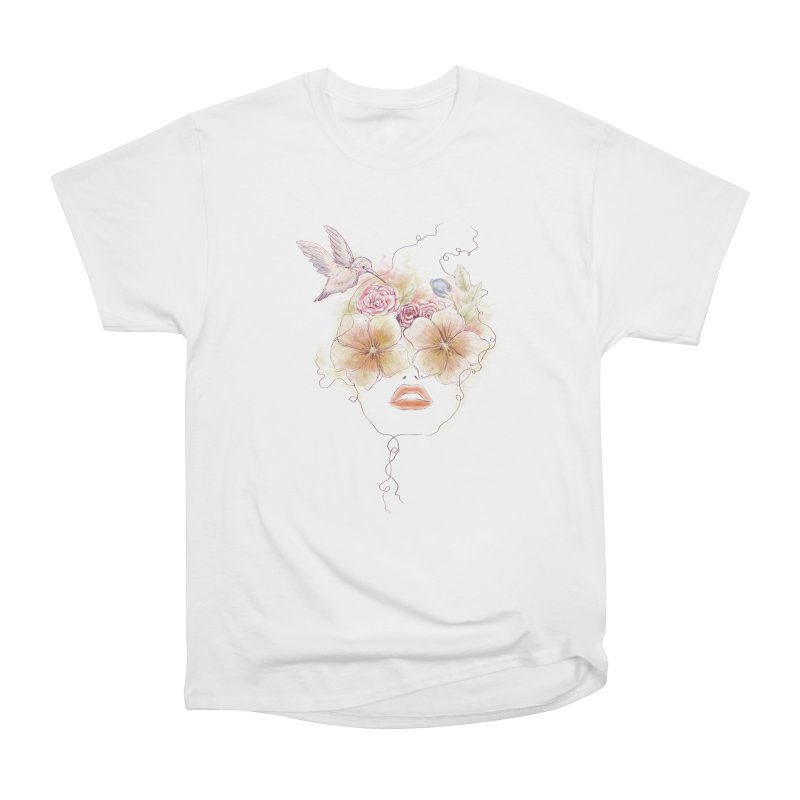 In Full Bloom Women's Classic Unisex T-Shirt by Winterglaze's Artist Shop