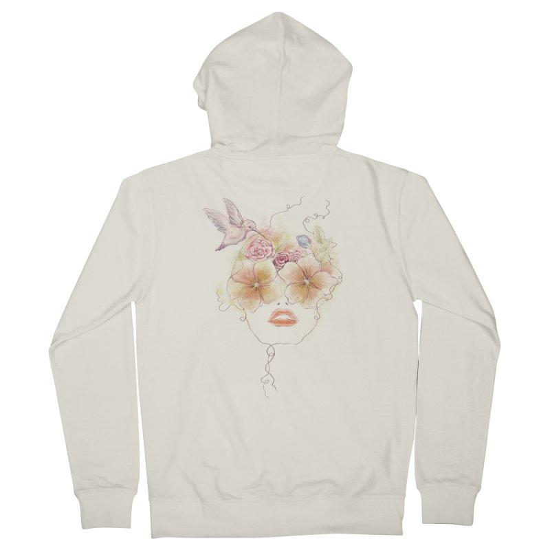 In Full Bloom Men's Zip-Up Hoody by Winterglaze's Artist Shop