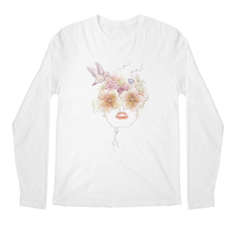 In Full Bloom Men's Longsleeve T-Shirt by Winterglaze's Artist Shop