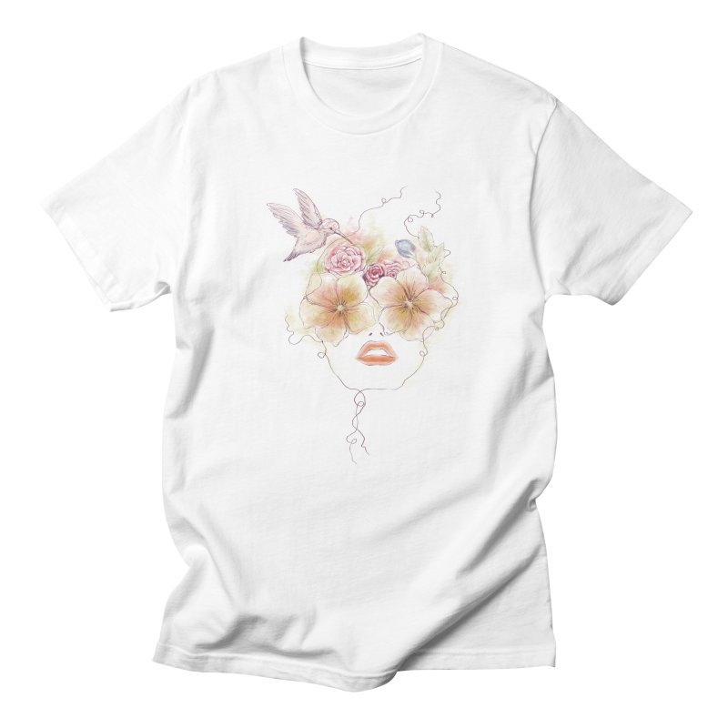 In Full Bloom Men's T-Shirt by Winterglaze's Artist Shop