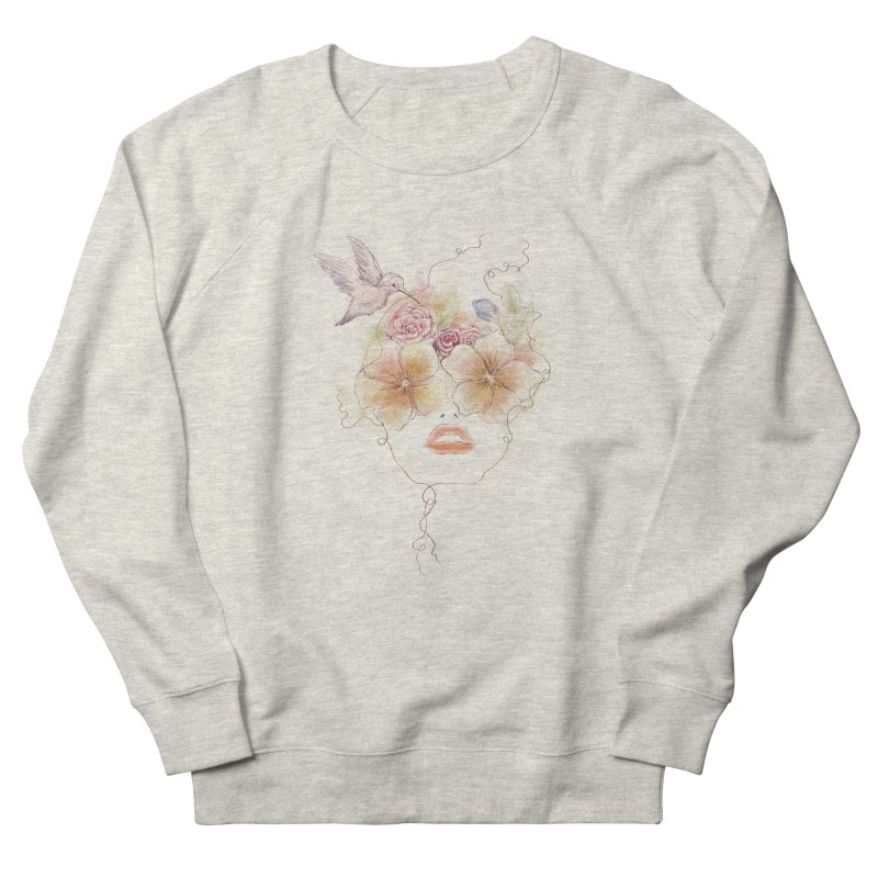 In Full Bloom Women's Sweatshirt by Winterglaze's Artist Shop