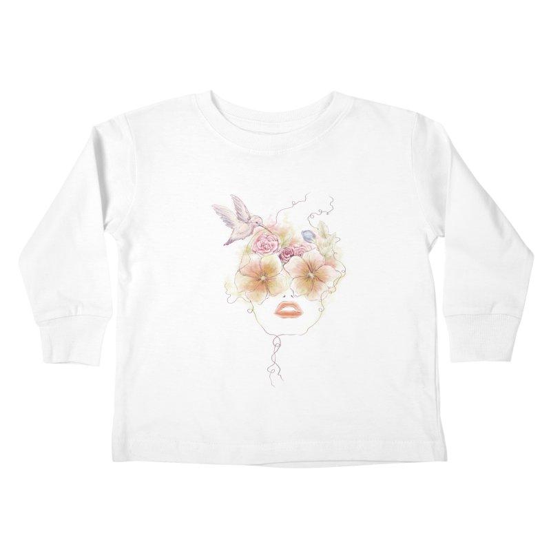 In Full Bloom Kids Toddler Longsleeve T-Shirt by Winterglaze's Artist Shop