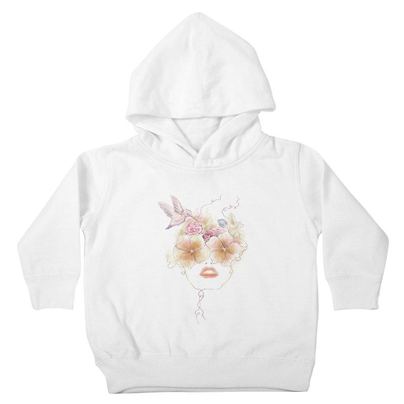 In Full Bloom Kids Toddler Pullover Hoody by Winterglaze's Artist Shop