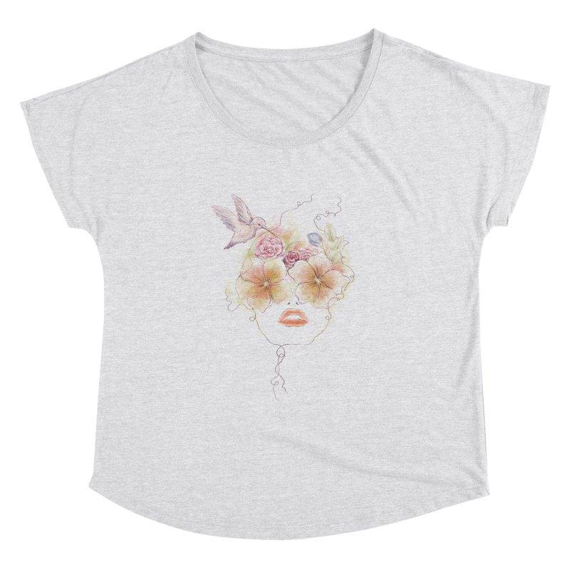 In Full Bloom Women's Dolman by Winterglaze's Artist Shop