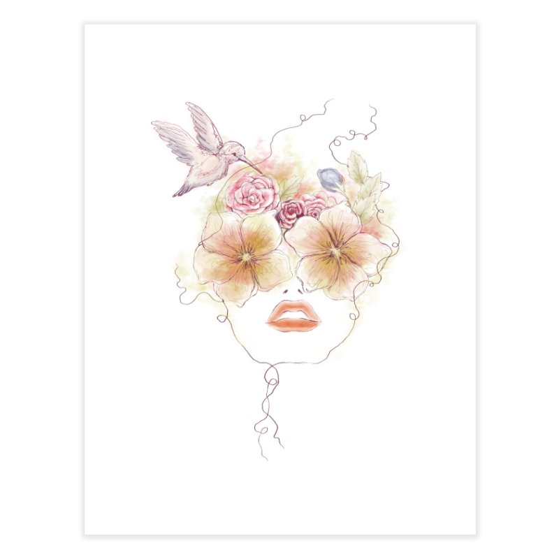 In Full Bloom Home Fine Art Print by Winterglaze's Artist Shop