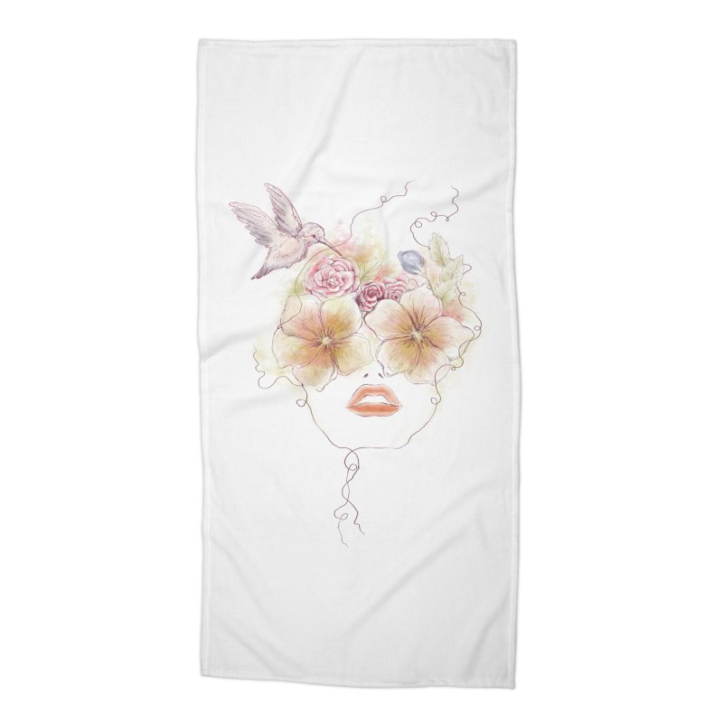 In Full Bloom Accessories Beach Towel by Winterglaze's Artist Shop