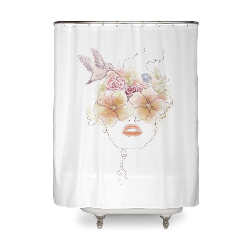 In Full Bloom Home Shower Curtain by Winterglaze's Artist Shop