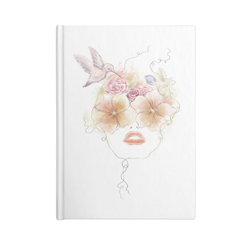 In Full Bloom Accessories Notebook by Winterglaze's Artist Shop