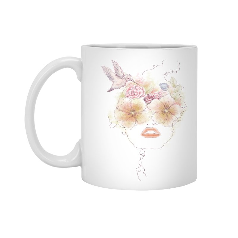 In Full Bloom Accessories Mug by Winterglaze's Artist Shop