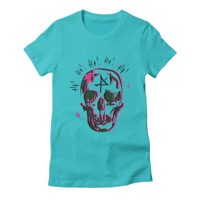 LOL Women's Fitted T-Shirt by Winterglaze's Artist Shop