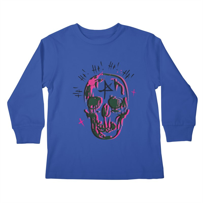 LOL Kids Longsleeve T-Shirt by Winterglaze's Artist Shop